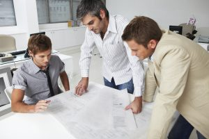 Young architects at work